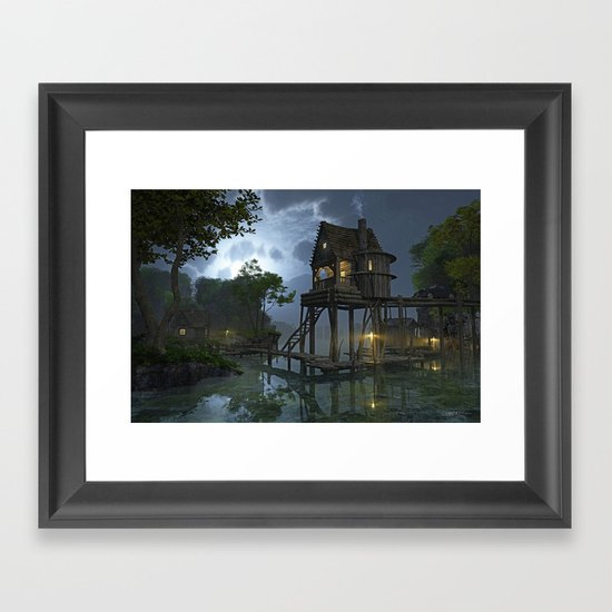 Stillwater Framed Art Print