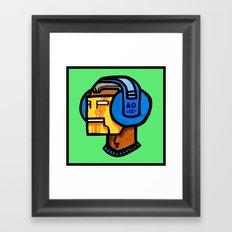headfone Framed Art Print