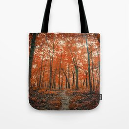 La Foresta Rossa Tote Bag
