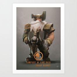 Magmar the Battleborn Art Print