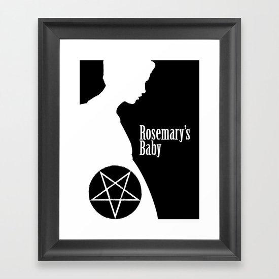 Rosemary's Baby Framed Art Print