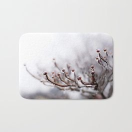 Icy Branches #2 Bath Mat