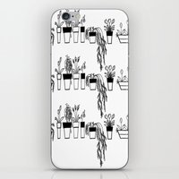 plants iPhone & iPod Skins featuring Plants by One Fig Blossom Studio
