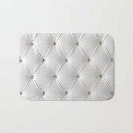 white chesterfield Bath Mat