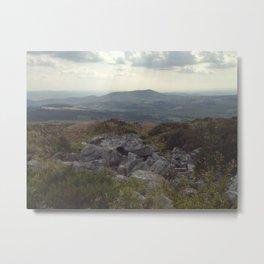 Towards Cader Idris - iPhoneography Metal Print