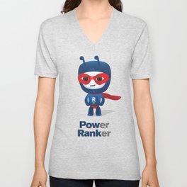 Power Ranker Unisex V-Neck