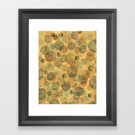 Coffee Universe Framed Art Print