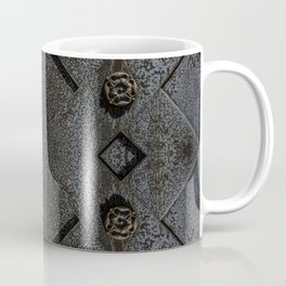 Metal Roses Coffee Mug