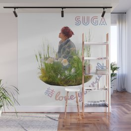 BTS Love Yourself Answer Design - Suga Wall Mural