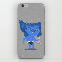beast iPhone & iPod Skins featuring Beast by Rod Perich