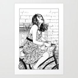 asc 340 - Les mystères de Barcelone V (The cobblestones in the Barrio Gotico) Art Print