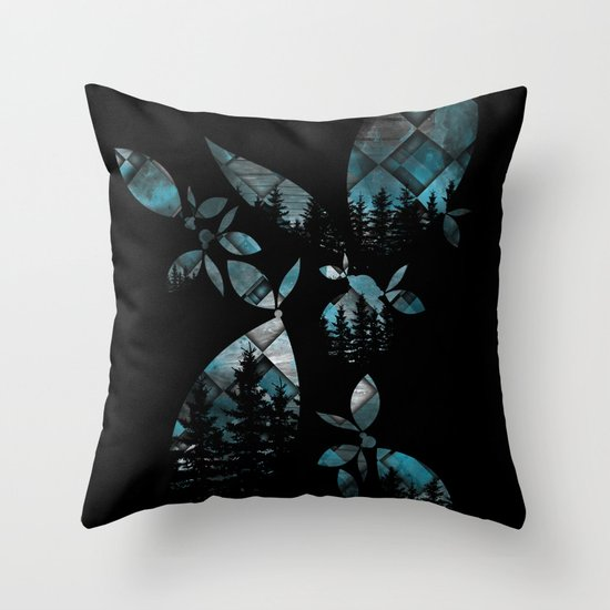 After What Remix Throw Pillow
