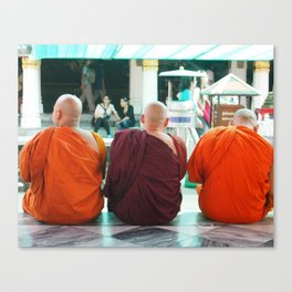 Three Wise Monks Canvas Print