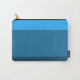 Blue Gradient Pattern Carry-All Pouch
