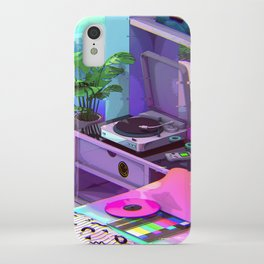 Vaporwave Aesthetic iPhone Case