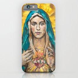 NEW EDITION: Cor Maria Sacratissimum iPhone Case