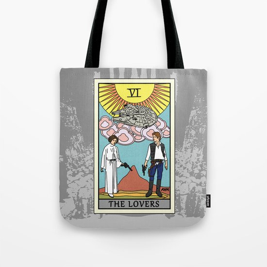 The Lovers - Tarot Card Tote Bag