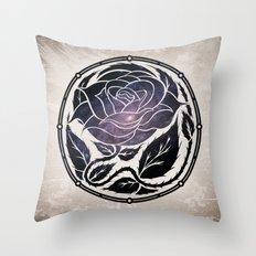 The Rose Medallion Throw Pillow