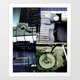 The Luscious and the Painterly Art Print