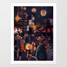 One of Many Journeys Art Print