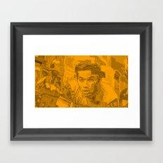 Eddy Merckx Portrait Framed Art Print