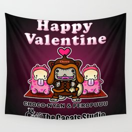 Happy Valentine Wall Tapestry