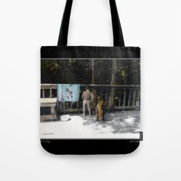 Zach and Jack Fine Art Poster Tote Bag