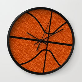 Fantasy Basketball Super Fan Free Throw Wall Clock