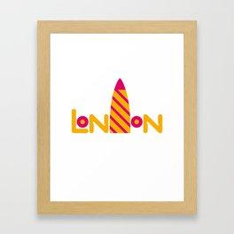 London 2 Framed Art Print