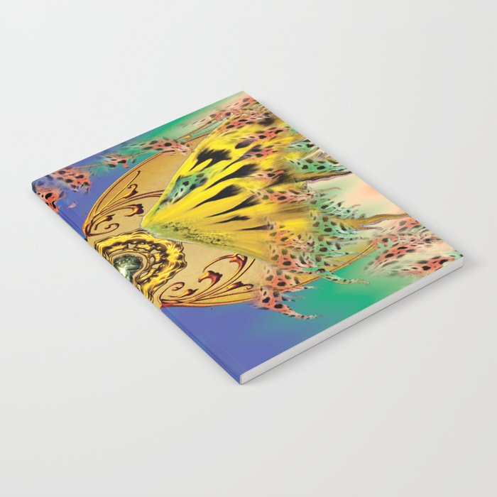 The dance of the butterfly Notebook