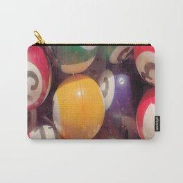 Billiard Balls Carry-All Pouch