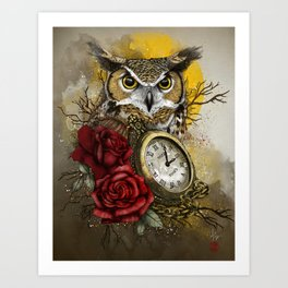 Time is Wise Art Print