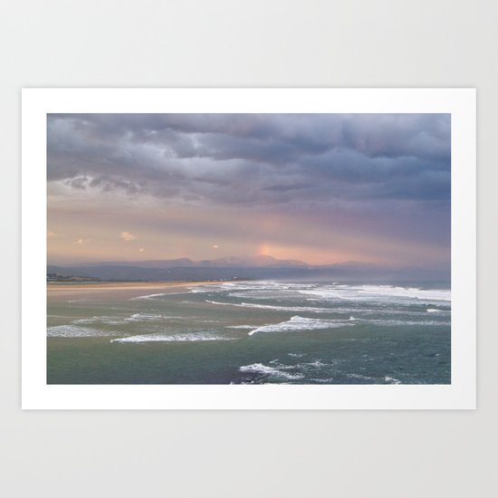 Storm Brewing Art Print