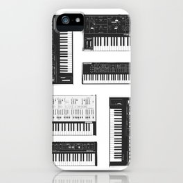 Collection : Synthetizers iPhone Case