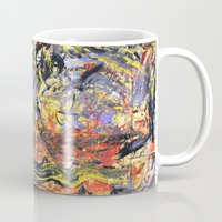coldplay Mugs featuring Parachutes 00' by l.w.