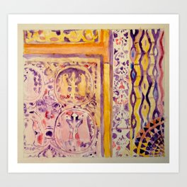 Corbu I Art Print