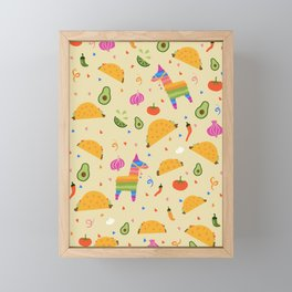 Taco Fiesta Framed Mini Art Print