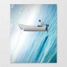 """""""Let's Rethink Space"""" by Tim O'Brien for Nautilus Canvas Print"""