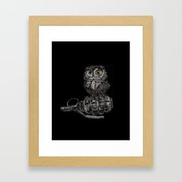 Pygmy on a Pineapple Framed Art Print