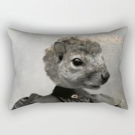 Miss Squirrel Rectangular Pillow