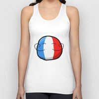 france Tank Tops featuring France by Thomas Official