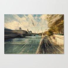 Paris in style Canvas Print