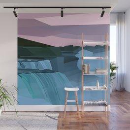 Geometric Niagara Falls, Canada USA Wall Mural