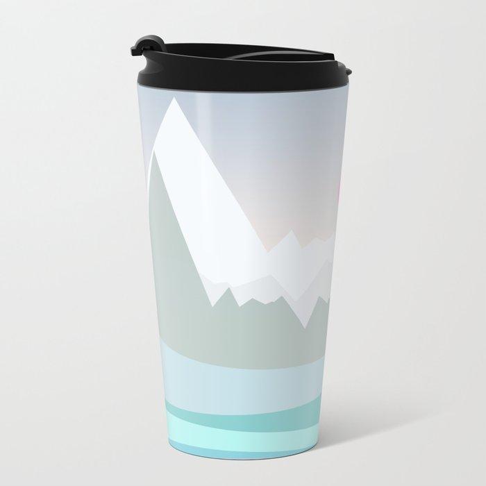 Landscape NC 06 Metal Travel Mug