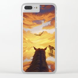 To The Light Clear iPhone Case