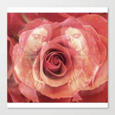 La Virgen de Guadalupe series: Worship of the Rose Canvas Print