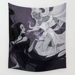 Nyx and Selene Wall Tapestry