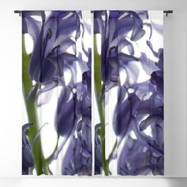 Bluebell Flowers Blackout Curtain