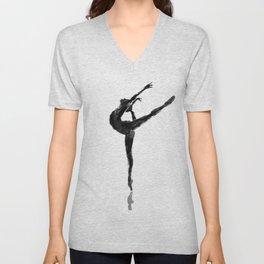 Balanced Ballerina Unisex V-Neck