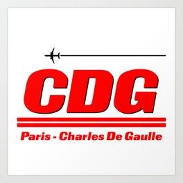 CDG Art Print